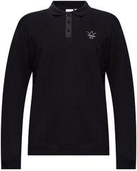 adidas Originals Polo Shirt With Logo - Black