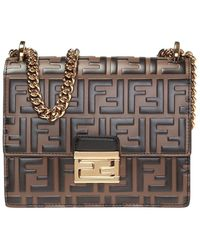 Fendi Kan U Small - Brown