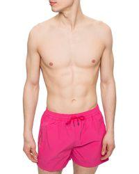 Paul Smith Drawstring Swim Shorts - Pink