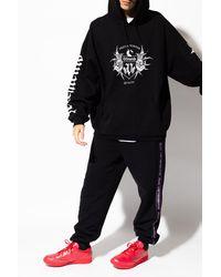 Vetements Printed Sweatshirt - Black