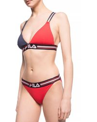 Fila Swimsuit Top - Red
