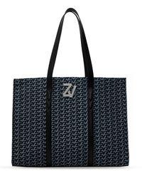 Zadig & Voltaire Shopper Bag Navy Blue