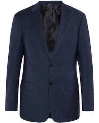 Giorgio Armani - Checked Suit - Lyst