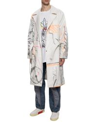 Off-White c/o Virgil Abloh Futura Trench Coat - White