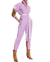 adidas Originals Logo Track Pants Pink