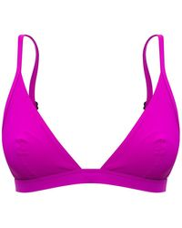 Isabel Marant Swimsuit Top Purple