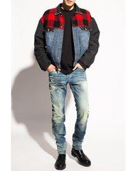 DIESEL 'd-kras' Jeans Blue