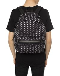 Saint Laurent 'city' Backpack With Logo Black