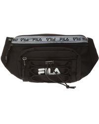 Fila Belt Bag With Logo - Black