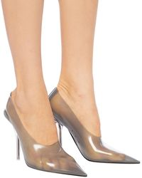 Yeezy Pointed Toe Stiletto Court Shoes Grey
