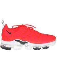 Nike - 'air Vapormax Plus' Sneakers Red - Lyst