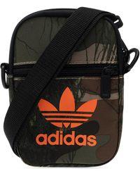 adidas Originals Shoulder Bag With Logo Brown