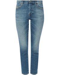 DIESEL 'babhila' Super Skinny Jeans Blue