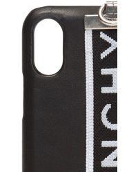 Givenchy Iphone X Case Unisex Black