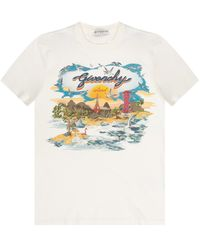 Givenchy Printed T-shirt - Multicolor