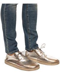 Marsèll Distressed Shoes Silver - Metallic