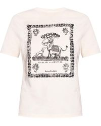 Acne Studios Printed T-shirt - White