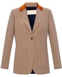 Tory Burch Plaid Blazer - Multicolour
