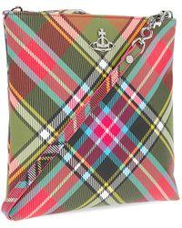 Vivienne Westwood Shoulder Bag With Logo Multicolour