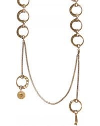 Chloé - Necklace With Charms - Lyst