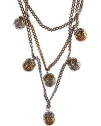 Alexander McQueen - Necklace With Round Charms - Lyst