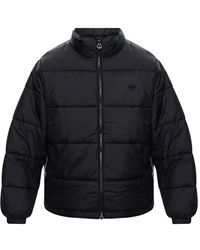 adidas Originals Puffer Jacket With Logo Black - Pink