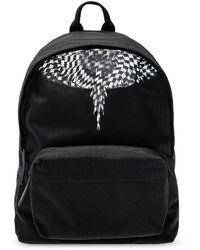 Marcelo Burlon Printed Backpack Black