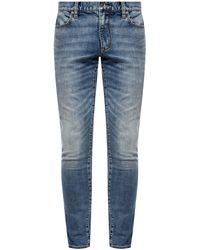 John Varvatos Stonewashed Jeans - Blue