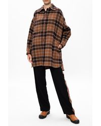 See By Chloé Checked Shirt Brown