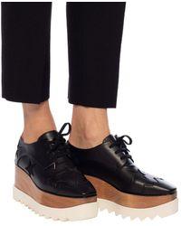 Stella McCartney 'elyse' Platform Shoes Black