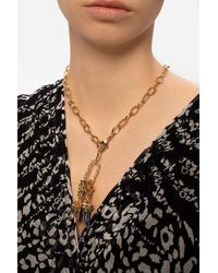 Gas Bijoux 'constantine' Necklace Gold - Metallic
