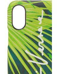 Versace Iphone X/xs Case - Green
