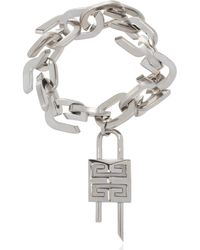 Givenchy Bracelet With Logo - Metallic
