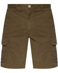 Woolrich Shorts With Pockets - Green
