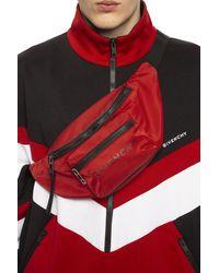 Givenchy 'split' Belt Bag Red