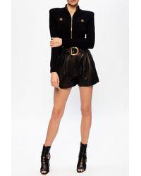 Balmain Knitted Cardigan - Black