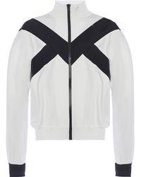 Givenchy - Band Collar Sweatshirt - Lyst