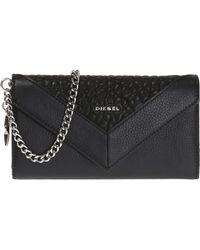 DIESEL 'gipsi' Wallet On Chain - Black