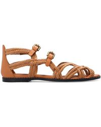See By Chloé 'adria' Woven Sandals Brown