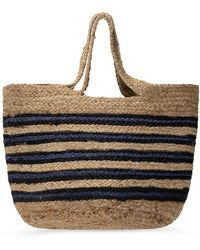 Samsøe & Samsøe Woven Shopper Bag - Natural