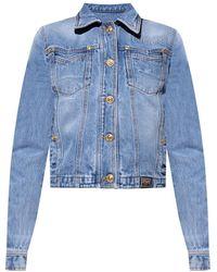 Versace Jeans Couture Denim Jacket - Blue