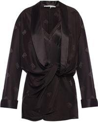 Alexander Wang Pyjama Romper - Black