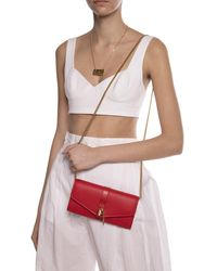 Chloé 'aby' Wallet On Chain Red