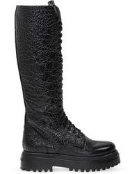 Le Silla 'ranger' Knee-high Boots Black