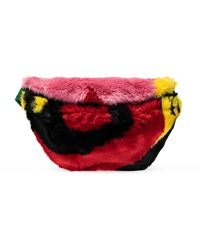 Kirin Fur Belt Bag - Multicolour