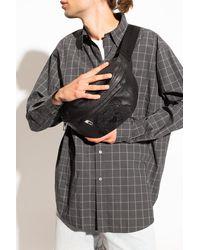 KENZO Belt Bag With Logo - Black
