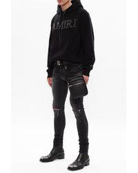 Amiri Distressed Jeans Black