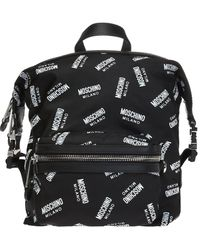 Moschino - Logo-printed Backpack - Lyst