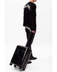 Off-White c/o Virgil Abloh Logo Suitcase Unisex Black