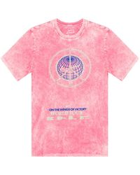 Nike - T-shirt With Logo Pink - Lyst